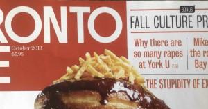 Toronto Life Oct 2013 Cover
