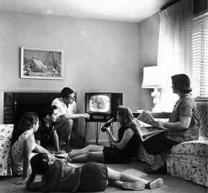 800px-Family_watching_television_1958