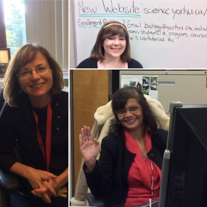 The Biology Undergraduate Office Staff at York University