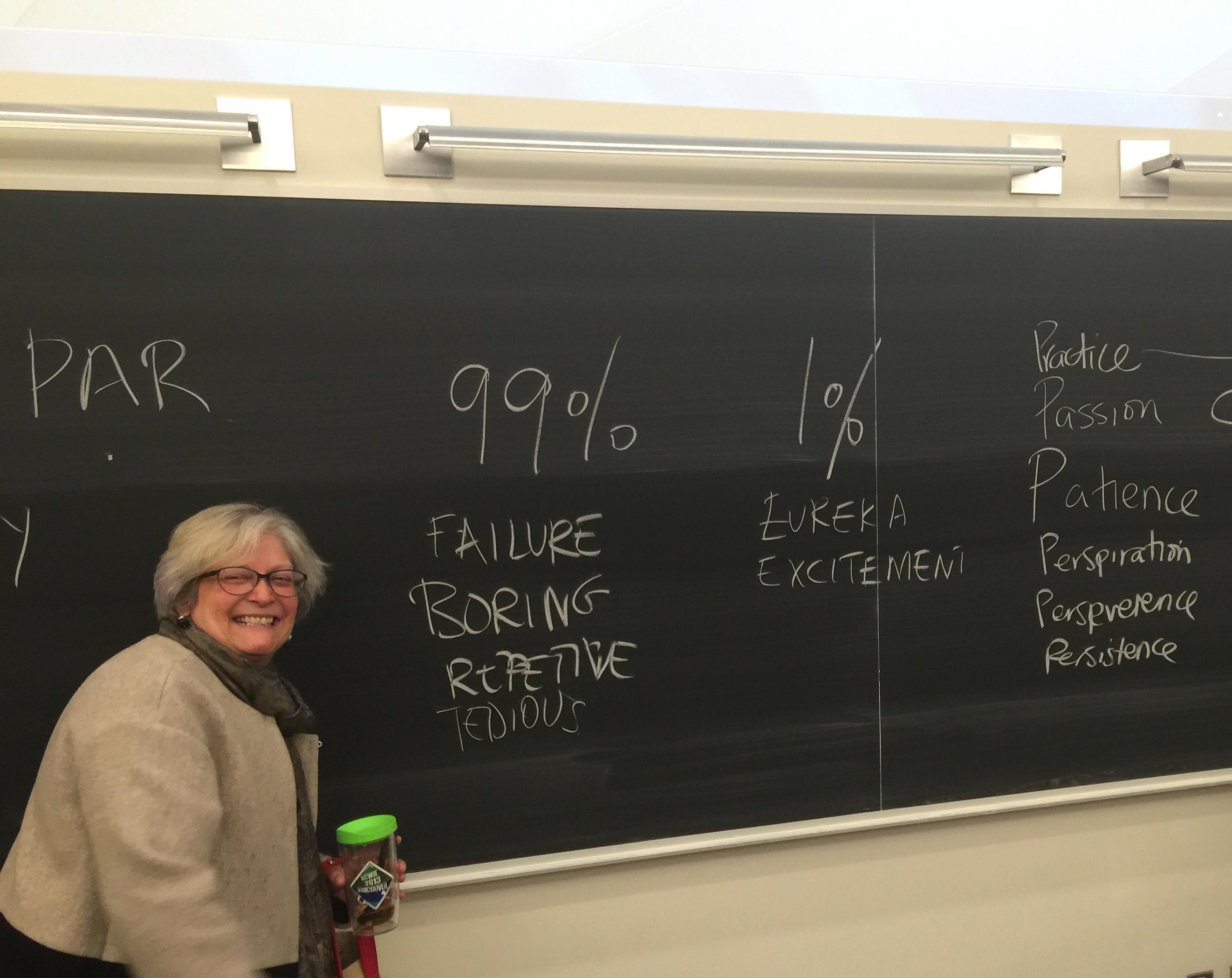 Dawn Bazely teaching Plant Biology