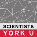 Scientists at YorkU logo