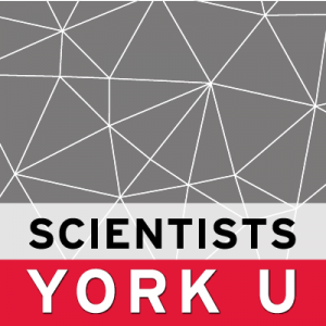 Scientists at YorkU logo