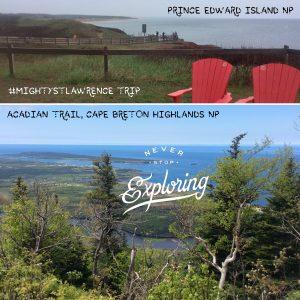 Prince Edward Island National Park & Cape Breton Island NP