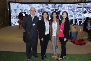 Left to right – Mark Terry, Idil Boran, Nancy Ghuman, Joanna Patouris. Photo Credit: Nancy Ghuman.