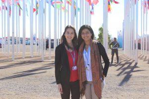 Joanna Patouris (L) and Nancy Ghuman (R). Photo Credit: Nancy Ghuman.