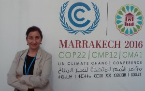 Professor Idil Boran attends her 5th COP. Photo credit: Idil Boran.