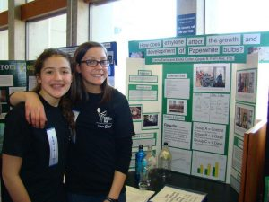 Students at Toronto Science Fair