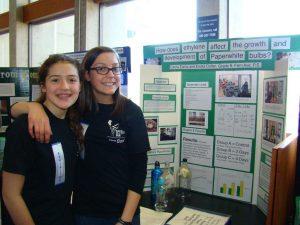 Students at Toronto Science Fair
