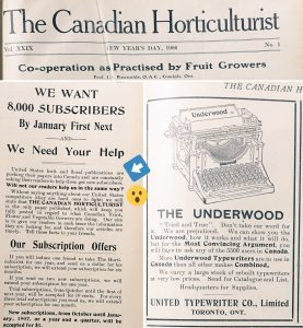 Old horticultural magazines
