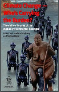 Cover of Anders & Tor Sandberg's book, Climate Change -- Who's Carrying the Burden?
