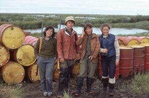 Field camp in 1983