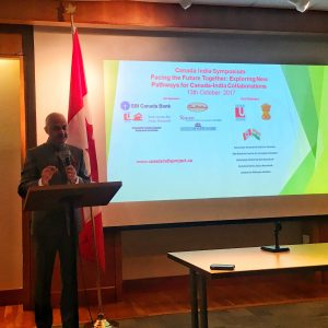 His Excellency, Dinesh Bhatia, Consul General of the Indian Consulate in Toronto