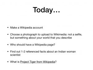 Wikipedia Editathon Slide 4