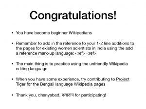 Wikipedia Editathon Slide 9