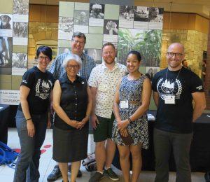 Our #CSEETweetShop panel (Sho, Me, Stephen, Morgan, Cylita and Alex)