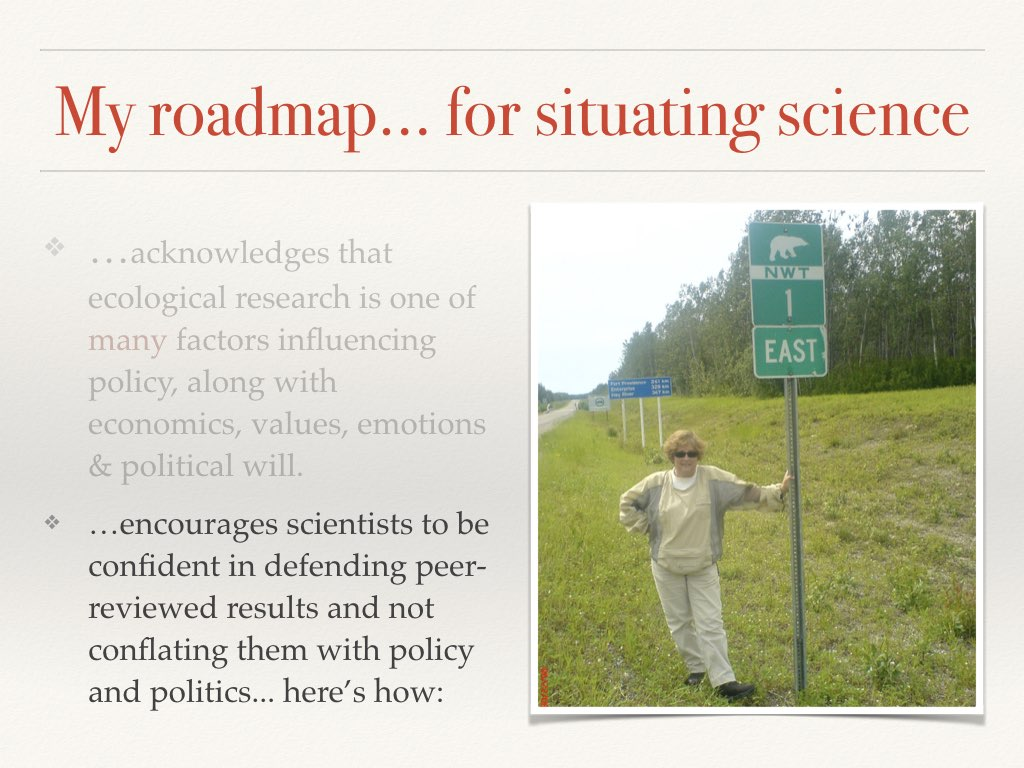 Context Slide 2 of my talk on communicating your science to policymakers