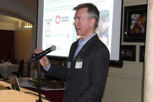 Jeremy Kerr speaking about citizen science