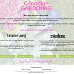 Canadian gardening magazine dead webpage for the Advent Botany 2014 parsnip pear recipe