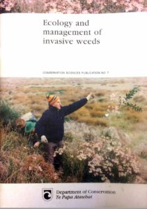 cover of Williams 1997 Ecology and Management of Invasive Weeds