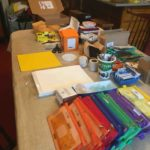 Assembling student field course kits